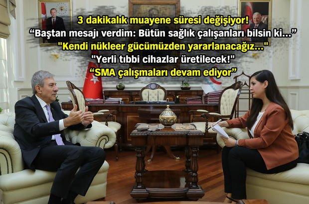Bakan Demircan'dan hem vatandaşa hem de sağlık çalışanlarına müjde!
