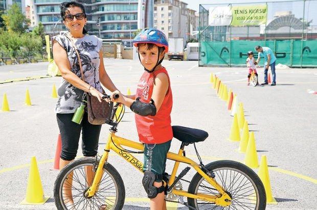 Çocuklar için 5 adımda bisiklet sürme rehberi