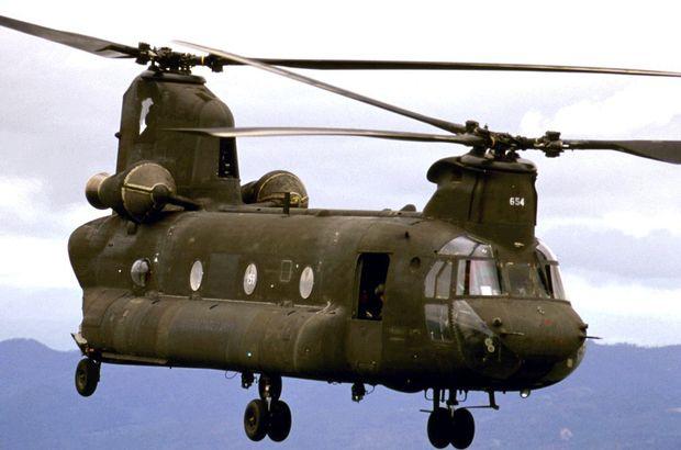 ABD'ye ait helikopter Yemen'de denize düştü