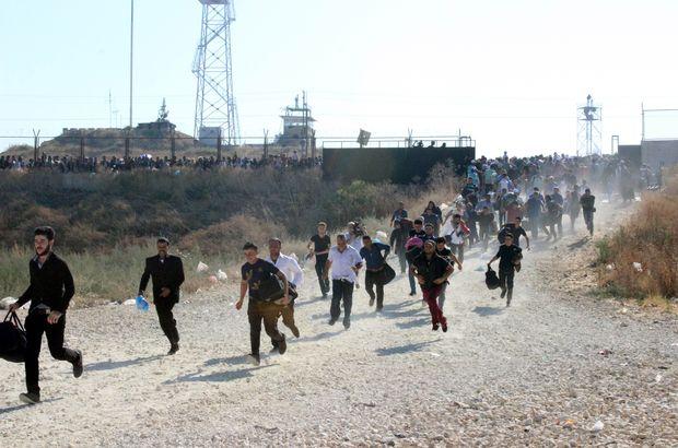 Kilis'te Suriyeli sığınmacılar, Kurban Bayramı için Suriye'ye dönüyor