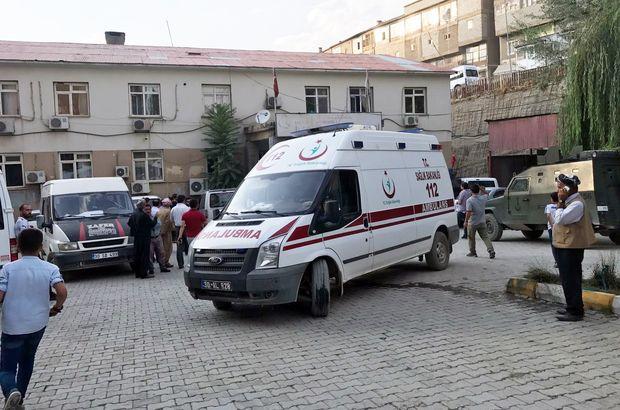Şemdinli'de patlama: 1 polis, 3 korucu yaralı