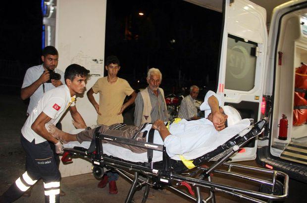 Şanlıurfa'da aileler arasında silahlı, bıçaklı, taşlı kavga çıktı: 8 yaralı