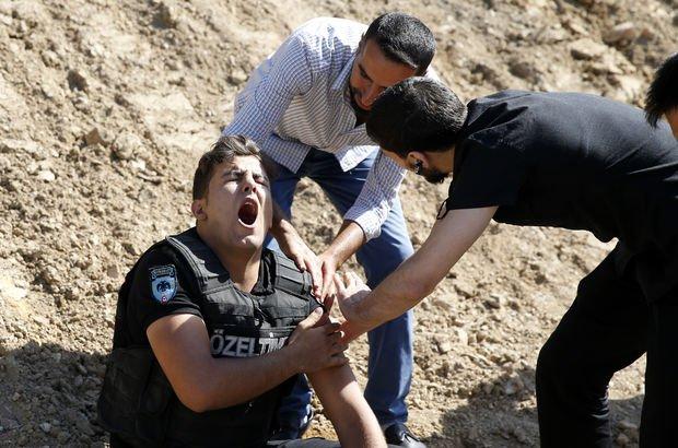 Üsküdar polisle mahallle sakinleri arasında arbede: 1 polis yaralı