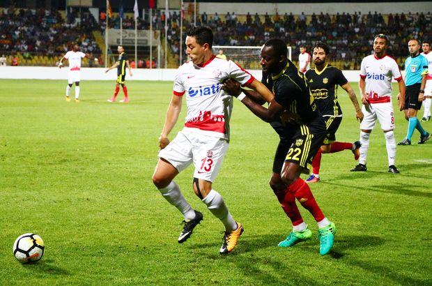 Yeni Malatyaspor: 1 - Antalyaspor: 1 | MAÇ SONUCU