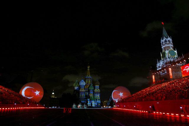 Moskova'da mehter sesleri!