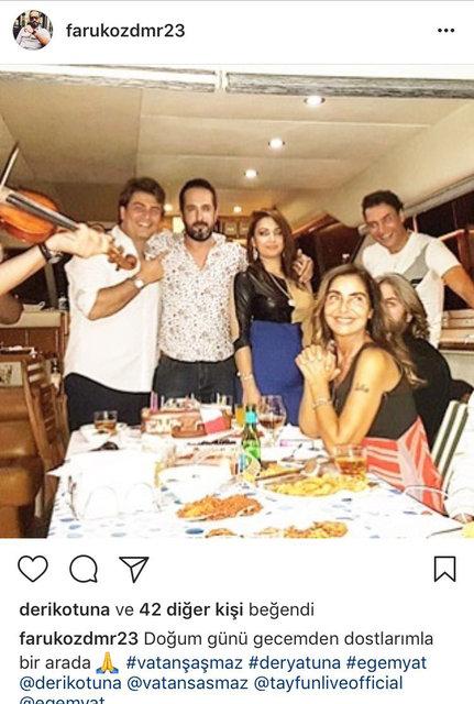 Vatan Şaşmaz ve Filiz Aker'in sosyal medyadaki son görüntüleri