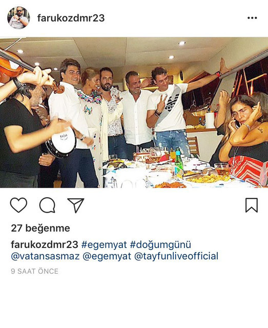 Vatan Şaşmaz ve Filiz Aker'in sosyal medyadaki son paylaşımları