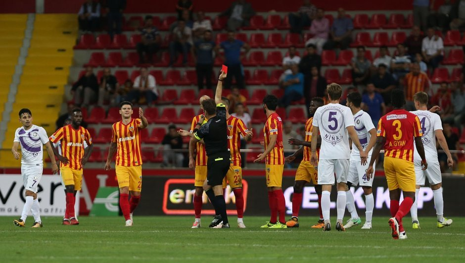 Kayserispor: 2 - Osmanlıspor: 2