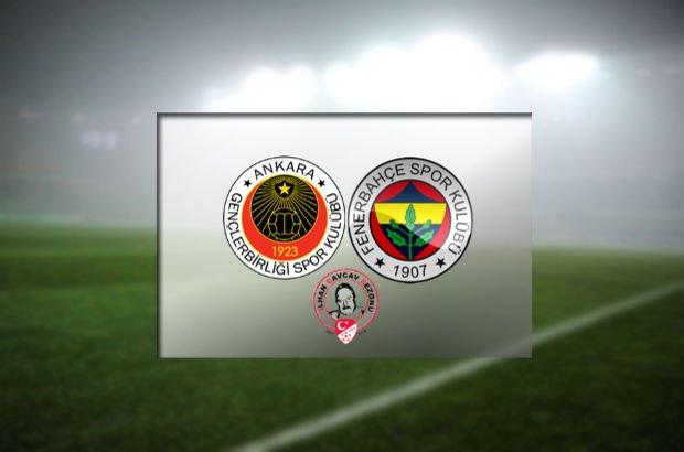 Gençlerbirliği, Fenerbahçe'yi ağırlayacak
