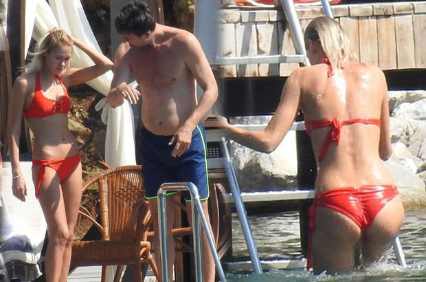 Irina'yla plajda