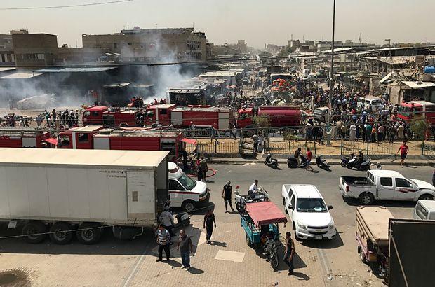 Bağdat'ta bomba yüklü araç infilak ettirildi: 8 ölü