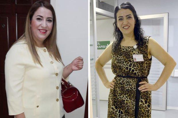 Esma Solmaz, obezite cerrahisiyle 110 kilodan 65 kiloya indi