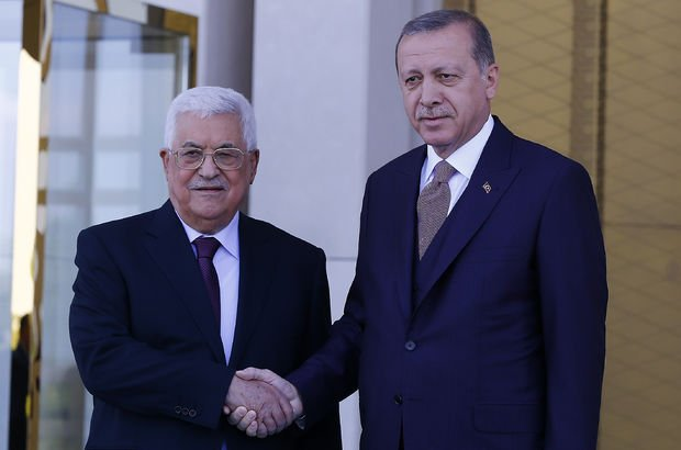 Filistin Devlet Başkanı Mahmud Abbas Ankara'da