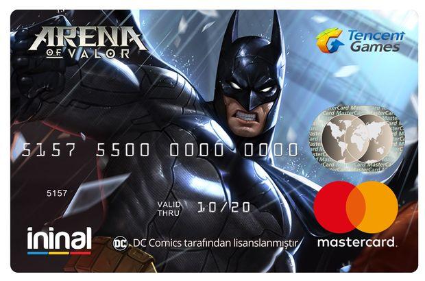 İninal yaptığı işbirlği ile Arena of Valor'a özel ödeme kartı sunuyor