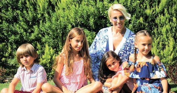 Dört çocuklu tatil
