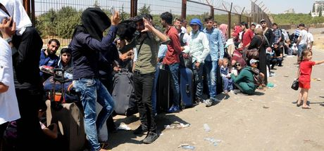 60 bini aşkın Suriyeli bayramlaşmaya ülkelerine gitti