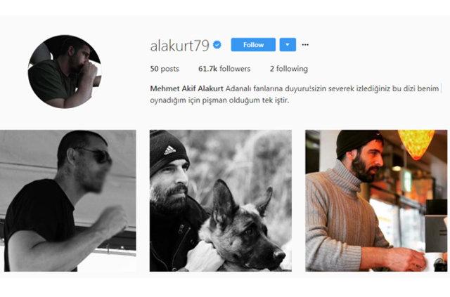 Mehmet Akif Alakurt'tan yıllar sonra gelen 'Adanalı' itirafı