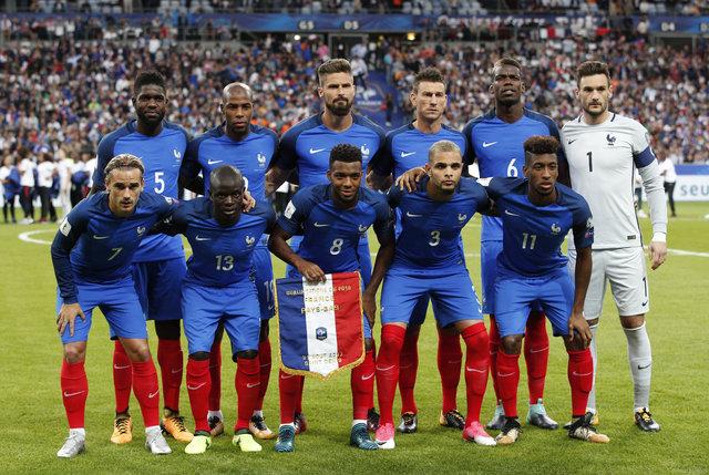 Fransa: 4 - Hollanda: 0   MAÇ SONUCU - Robin van Persie 65. dakikada oyuna girdi