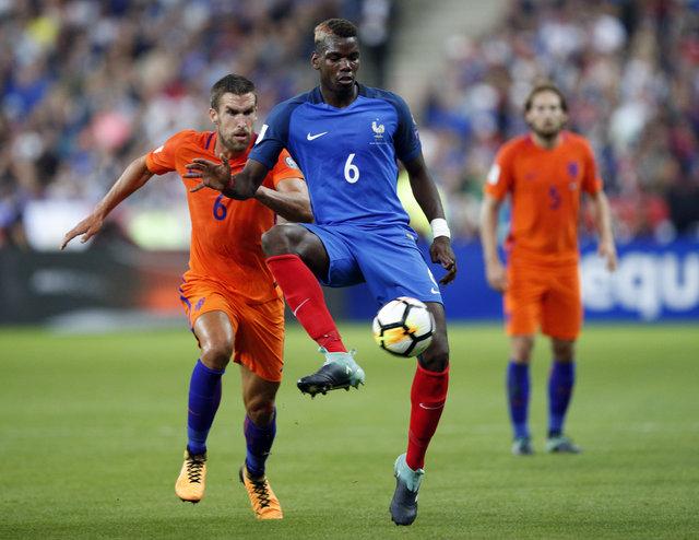 Fransa: 4 - Hollanda: 0 | MAÇ SONUCU - Robin van Persie 65. dakikada oyuna girdi
