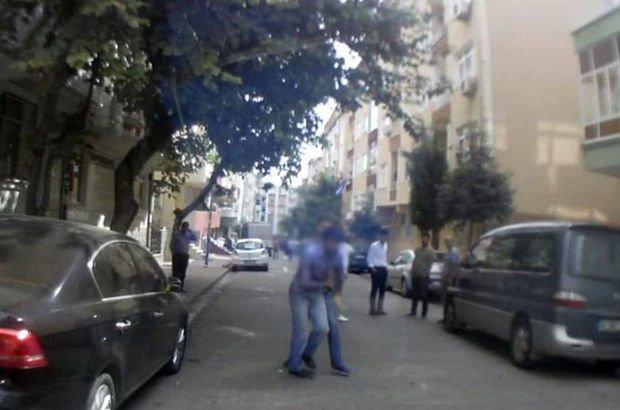 Bahçelievler'de dolandırıcıya sokak ortasında meydan dayağı