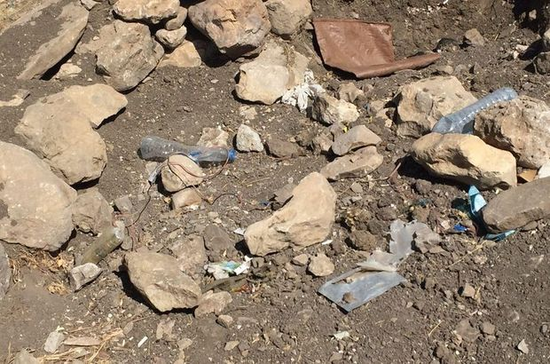 Siirt'te PKK'lı teröristlerin tuzakladığı patlayıcı zırhlı araca zarar verdi