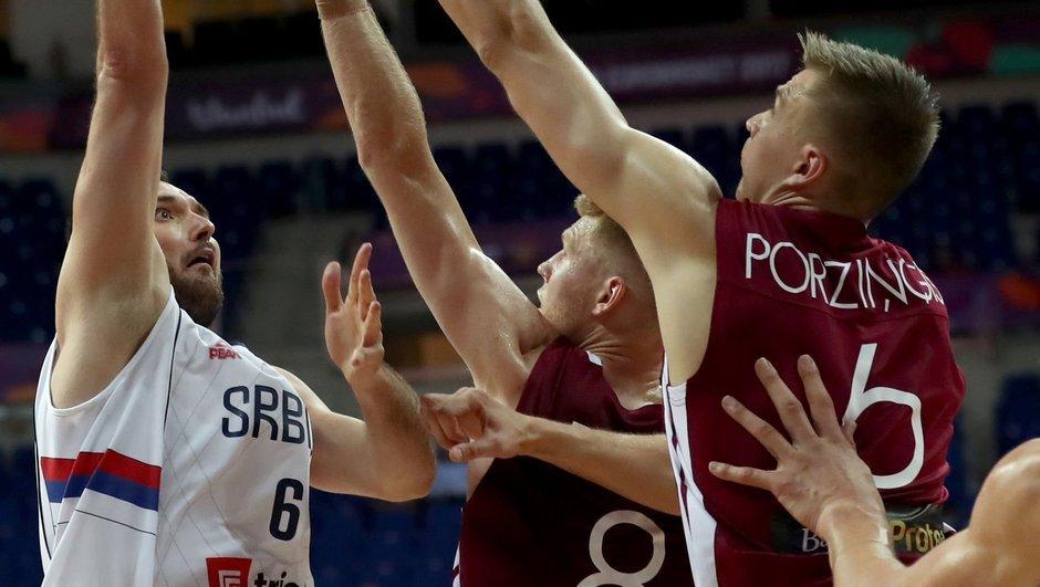 Sırbistan: 92 - Letonya: 82