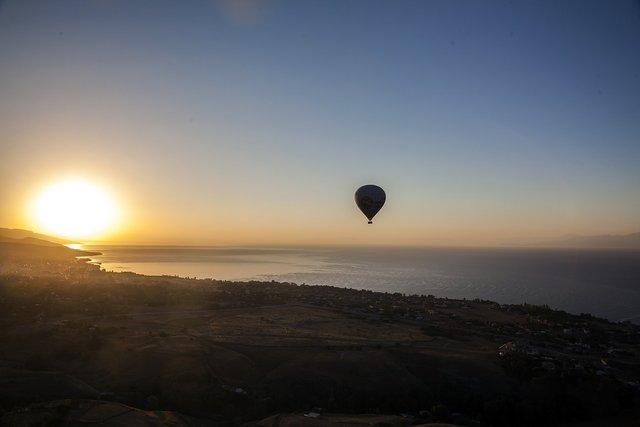 Kapadokya yerli turistin gözdesi oldu