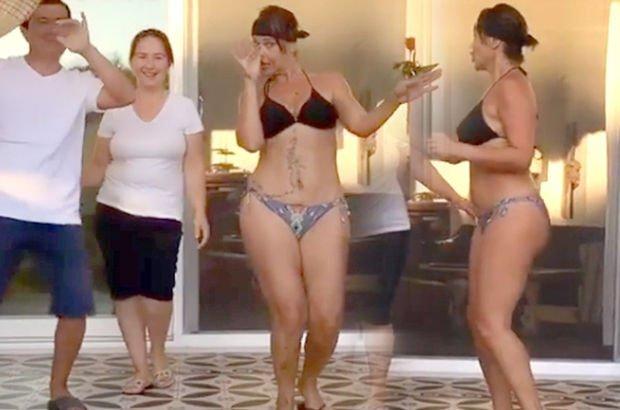 Hülya Avşar'dan bikinili yeni paylaşım