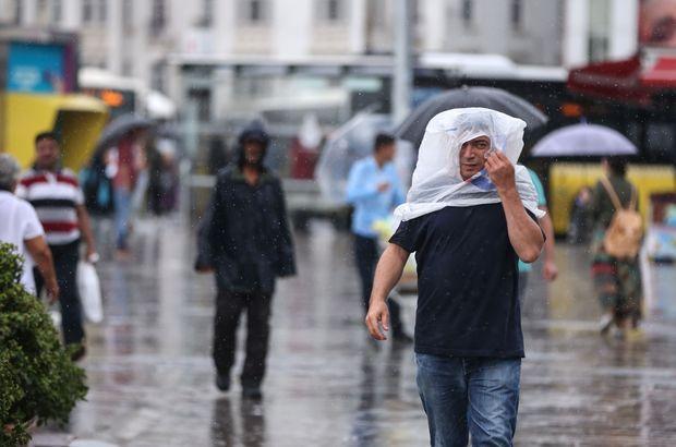 14 ile sağanak yağış uyarısı! İstanbul için bu saatlere dikkat!