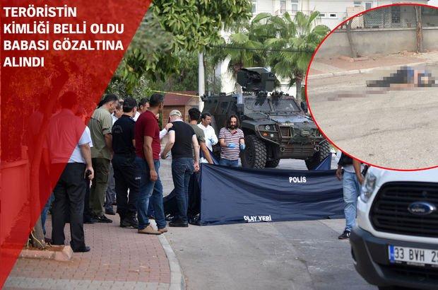 Mersin'de canlı bomba vuruldu! Polis merkezine saldıracaktı