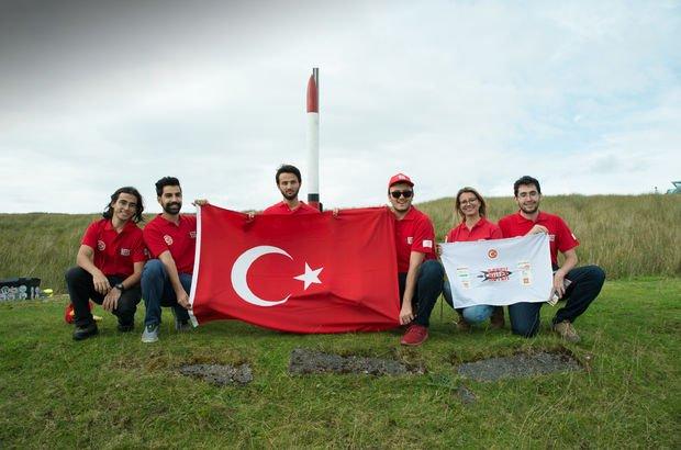 Roketleriyle Türkiye'yi dünya birincisi yaptılar!