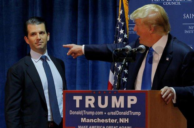 Donald Trump'ın oğlu Donald Trump Jr ifade verecek!