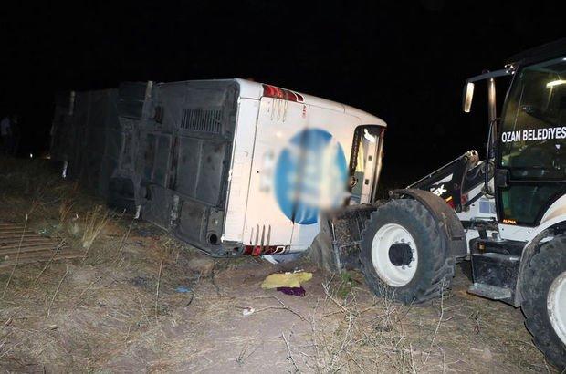 Yozgat'ta trafik kazası: 3 ölü 43 yaralı
