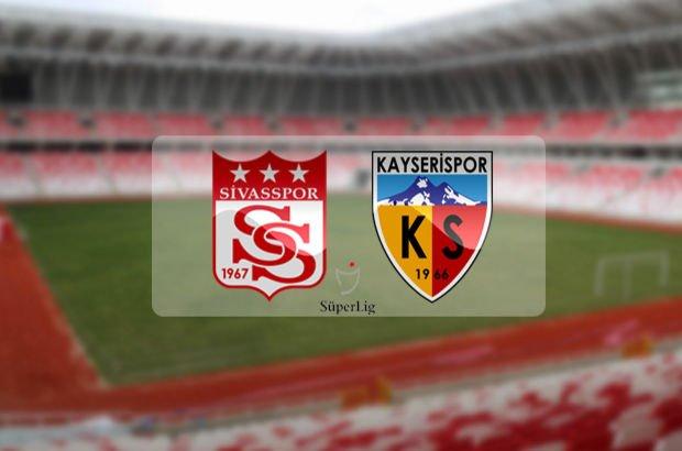 Sivasspor Kayserispor maçı