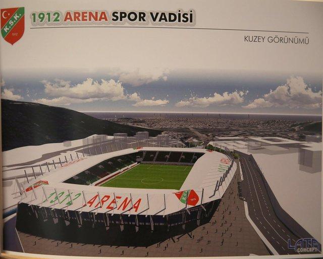İzmir'de Göztepe, Karşıyaka ve Alsancak statlarının temel atma töreni gerçekleştirildi