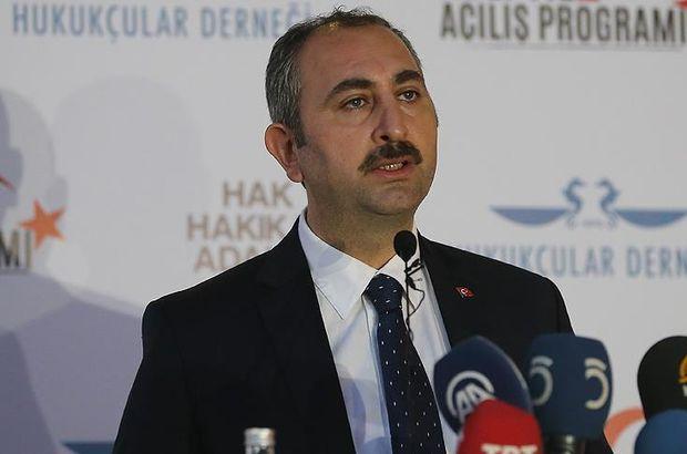 Adalet Bakanı Gül: Siyasetin en büyük sorunu üslupta seviyesizlik