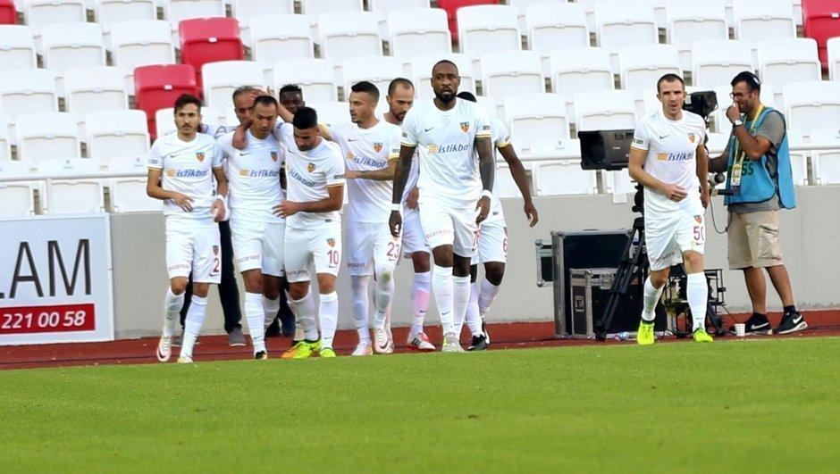 Sivasspor: 0 - Kayserispor: 2