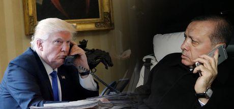 Cumhurbaşkanı Erdoğan ve ABD Başkanı Trump telefonda görüştü