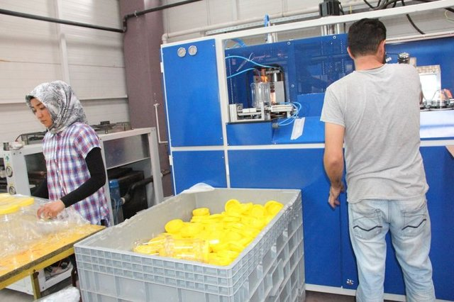 Sivas'tan 30 ülkeye pet ambalaj ihracatı