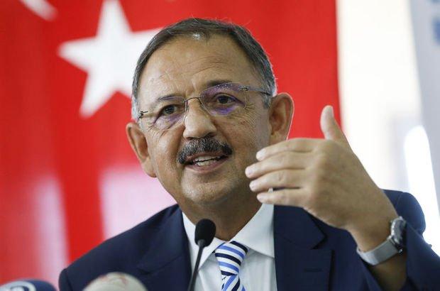 """Bakan Özhaseki'den kritik uyarı! """"Seferberliği ilan ettik"""""""