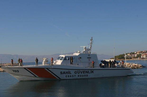 Ege Denizi'nde 46 kaçak göçmen yakalandı