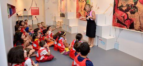 Contemporary İstanbul'da çocuklar da sanatla iç içe