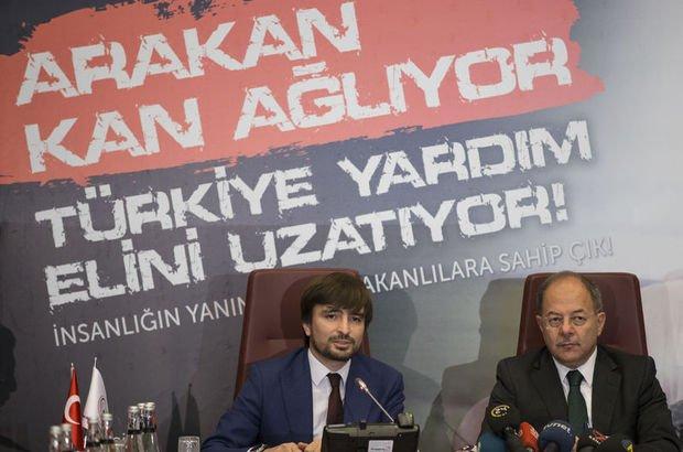 Akdağ ve Güllüoğlu'ndan Arakan yardımlarına ilişkin açıklama