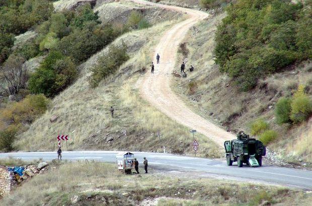 Tunceli'de karayolunda bomba tespit edildi, yol ulaşıma kapatıldı