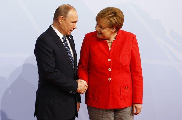 Putin ve Merkel'den Kuzey Kore için ortak kınama!