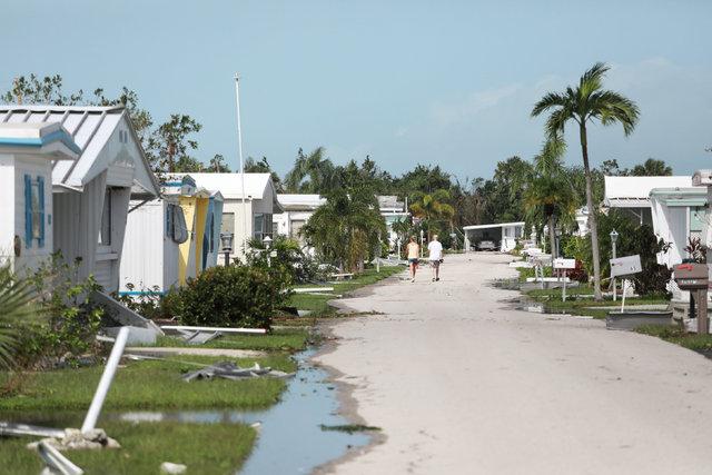 ABD'deki Irma Kasırgası mağduru 30 bin Türk'ü de mağdur etti!
