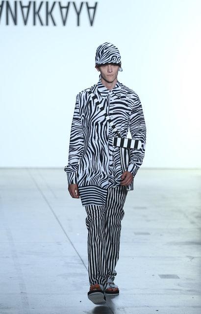 Hakan Akkaya New York Moda Haftası'na katıldı