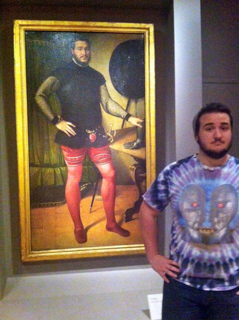 İkizlerini müzelerde bulan insanların paylaşımları