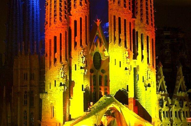 Barcelona, La Sagrada Familia, Katalan
