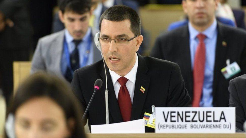 Venezuelan Dışişleri Bakanı Jorge Arreaza